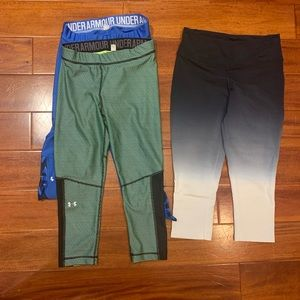 Under Armour Pants - Under armour and Nike workout pants